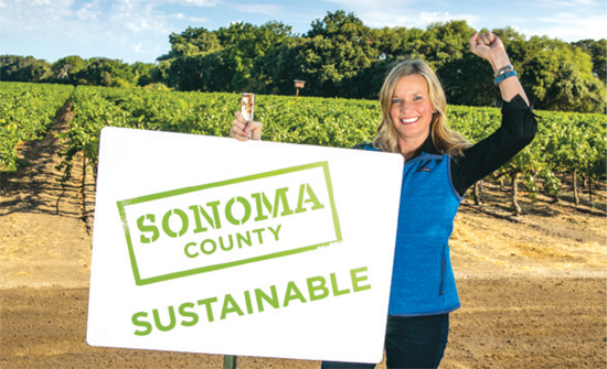 karissa kruse and sustainable sign