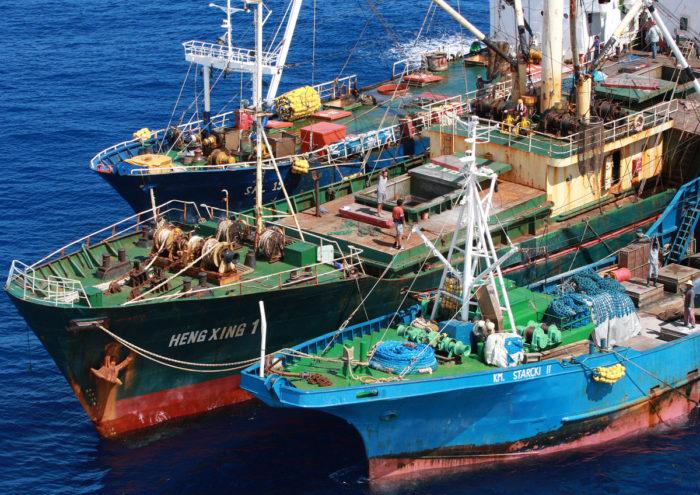 transshipment at sea