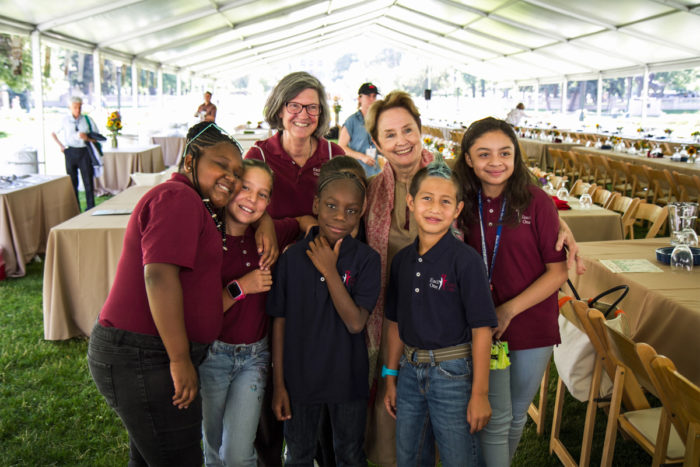 alice waters and students