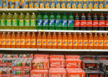 big sugar soda aisle