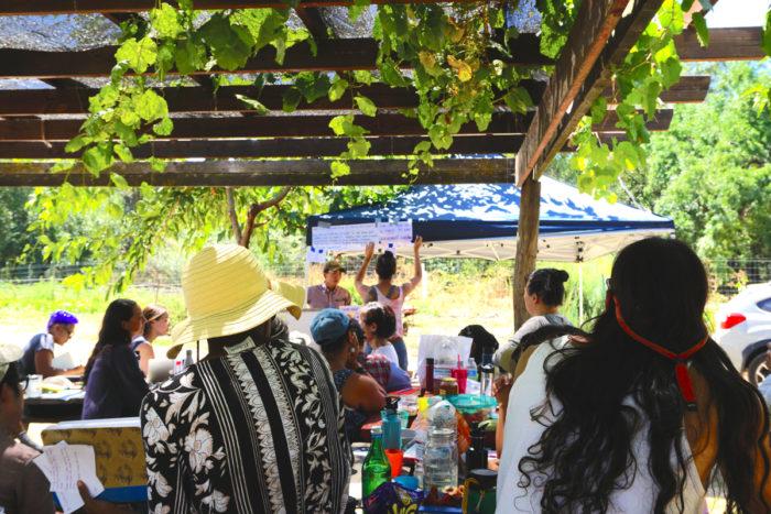 nonghwal gathering at namu farm