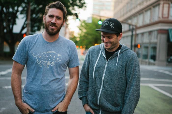 Wilder Land & Sea's Nate Rispler (left) and Kyle Swanson.