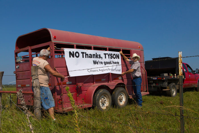 No Tyson in Tonganoxie trailer