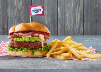 Beyond Meat burger photo courtesy of Beyond Meat.