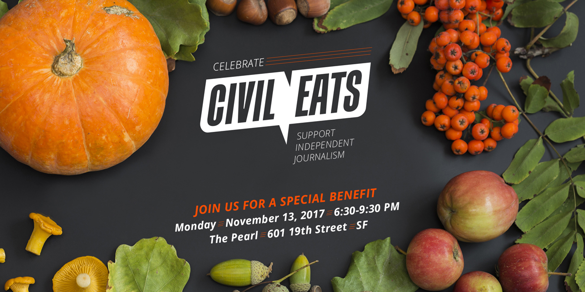 civileats.com - Dine with Mark Bittman, Marion Nestle, Michael Pollan, and Ruth Reichl to Benefit Civil Eats