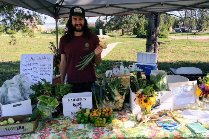 Pay what you can farm stand in denver