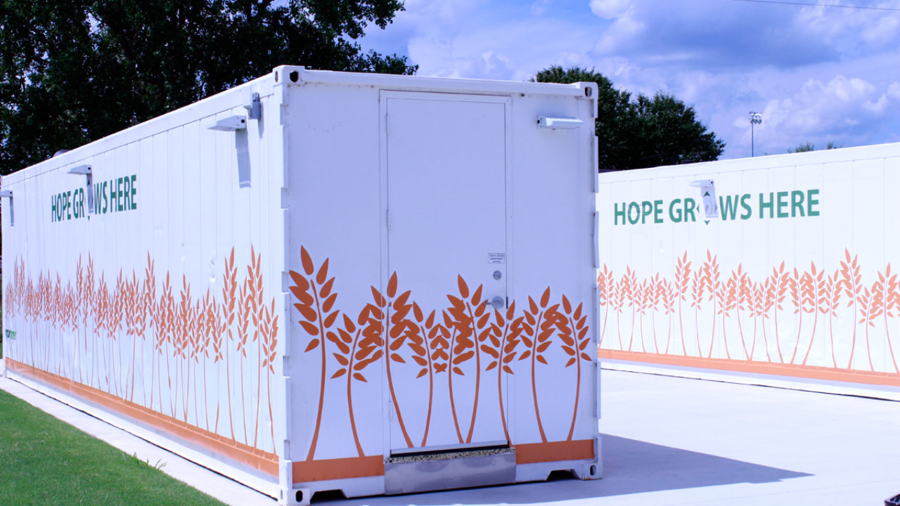 With Vertical Farms Food Banks Are Growing Their Own Produce To