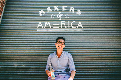 John Lee, a co-founder of Capital Kombucha. (Photo courtesy Capital Kombucha)