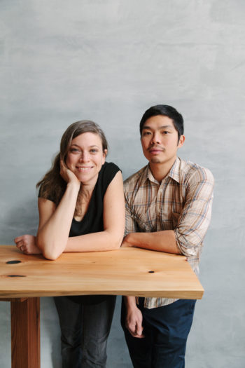 Karen Leibowitz and Anthony Myint.