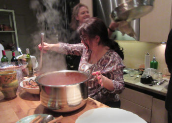 Rana Hashishow cooking a Syrian Christmas feast.