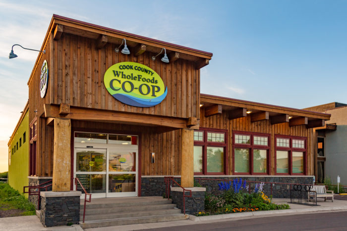 Minnesota's Cook County Whole Foods Co-op. (Photo credit: Tony Webster)