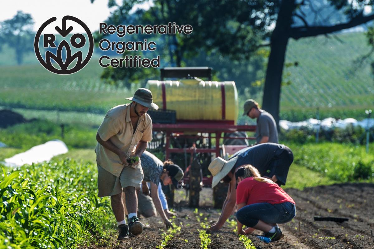 regenerative agriculture farm certified
