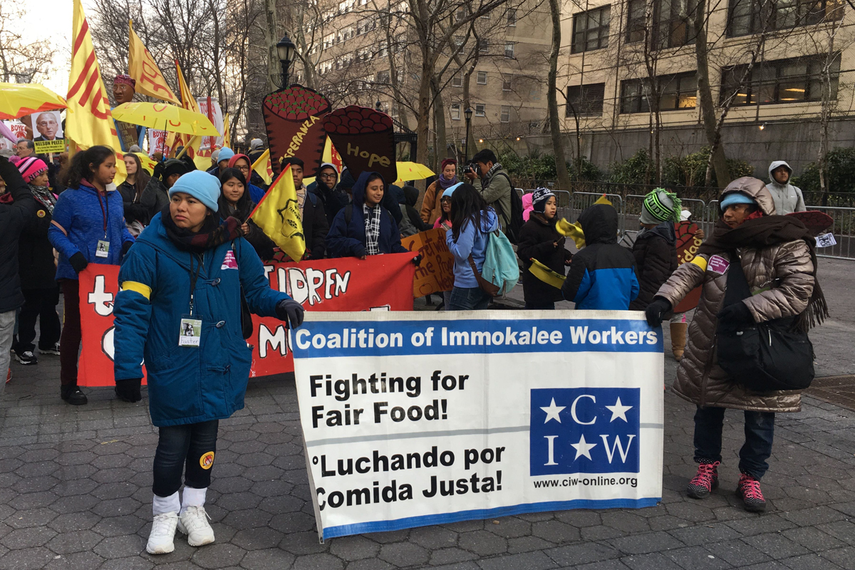Farmworkers march for justice