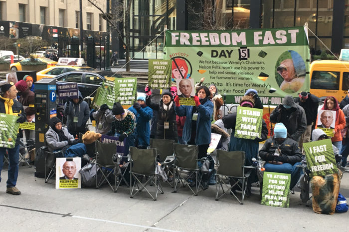 Farmworkers fasting for justice