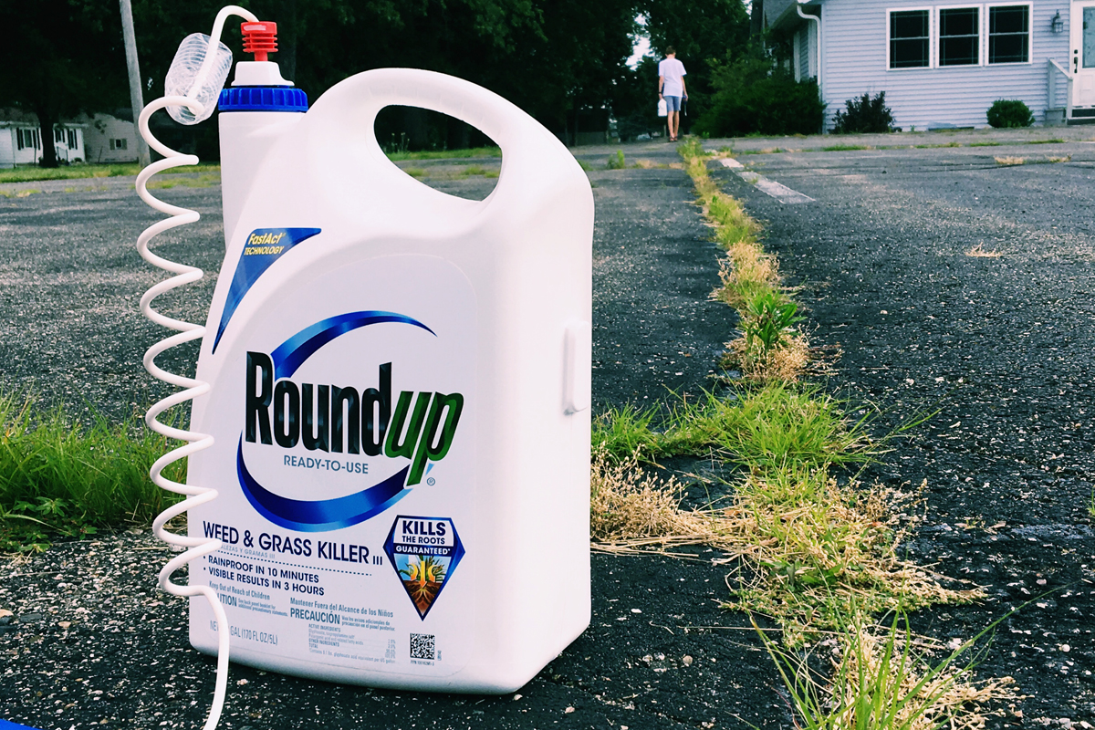 Roundup for residential use. (Photo credit: David Mulder.)