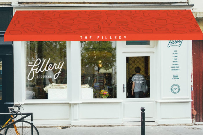 A digital rendering of The Fillery's storefront. (Photo courtesy of The Fillery)