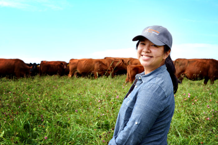 PastureMap's Christine Su. (Photo courtesy of PastureMap)