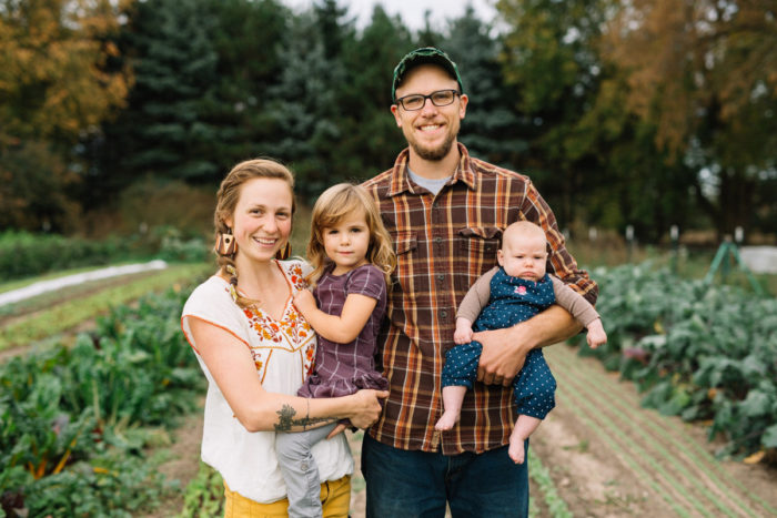 "Bethany and Mike Edwardson, co-founders and farmers at Plainsong Farm & Ministry. (Photo courtesy of < a href=""http://plainsongfarm.com/who-are-we/"">Plainsong Farm)"