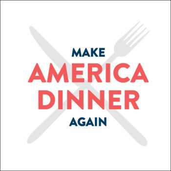 make america dinner again logo