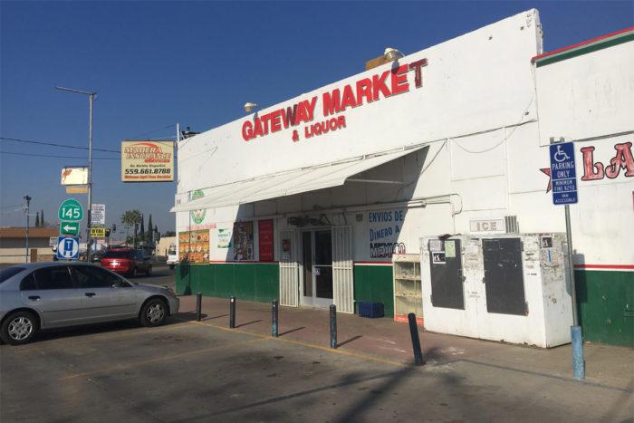 The Gateway Market in Madera, CA. (Photo credit: Lisa Morehouse)