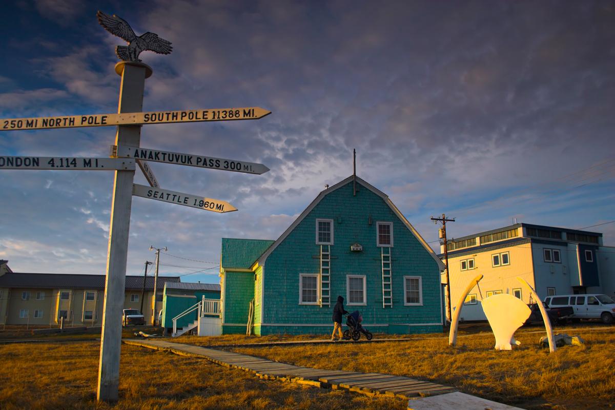 the town of Utqiagvik, Alaska