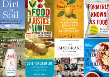 food and farming book covers