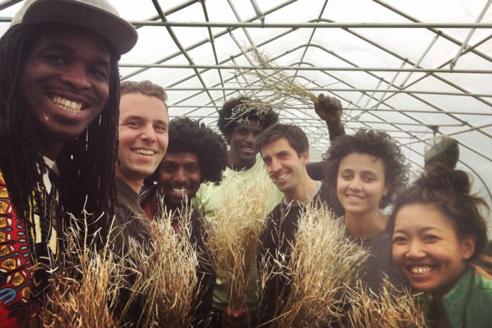A group of farmers working to preserve traditional foods. (Photo courtesy of Truelove Seeds)
