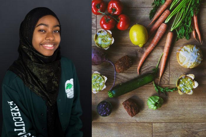 Leensa Ahmed, CEO of Green Garden Bakery. (Photo courtesy Green Garden Bakery)