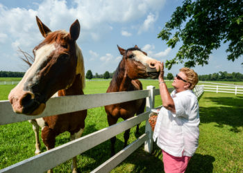 Debbie Clay is a farmer in Stony Creek, Virginia.