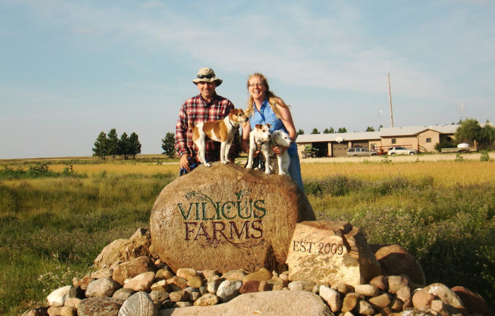 Doug Crabtree and Anna Jones-Crabtree. Photo courtesy of Vilicus Farms.