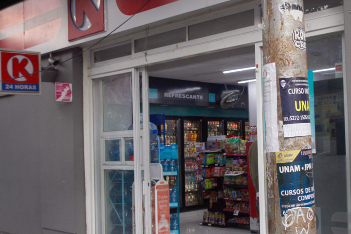 Chain shops like Circle K have popped up across Mexico.
