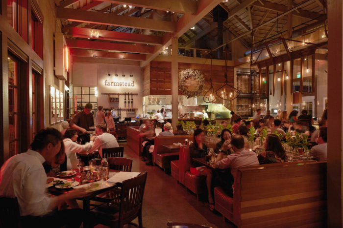 The Farmstead restaurant at Long Meadows Ranch. (Photo credit: Shea Evans Photography)