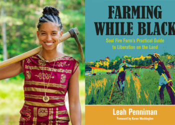 leah penniman and book cover