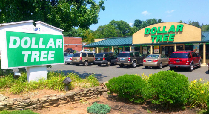 A Dollar Tree store in Cheshire, Conn. (Photo credit: Mike Mozart)