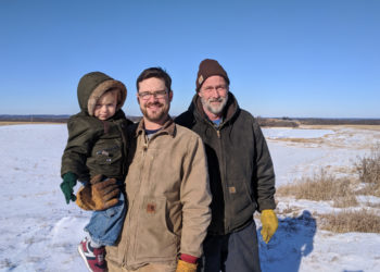 three generations of farmers at meadowlark organics