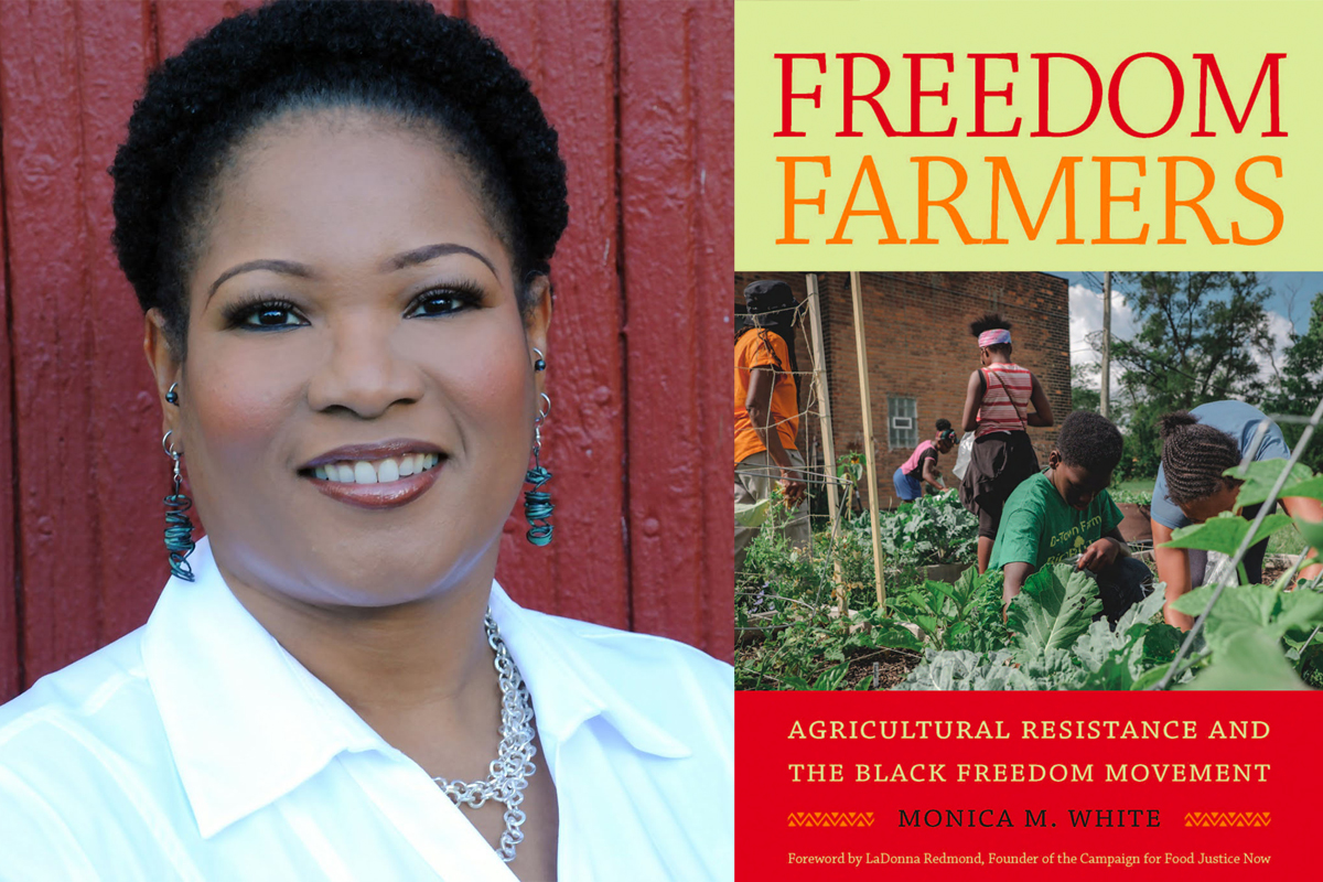 monica white and freedom farmers book cover