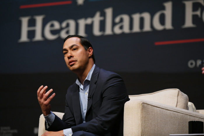 Former Housing and Urban Development Secretary Julián Castro. (Photo © Damon Dahlen / HuffPost)