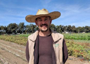 Latinx farmowner Victor Cortes