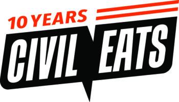 civil eats 10 year anniversary logo