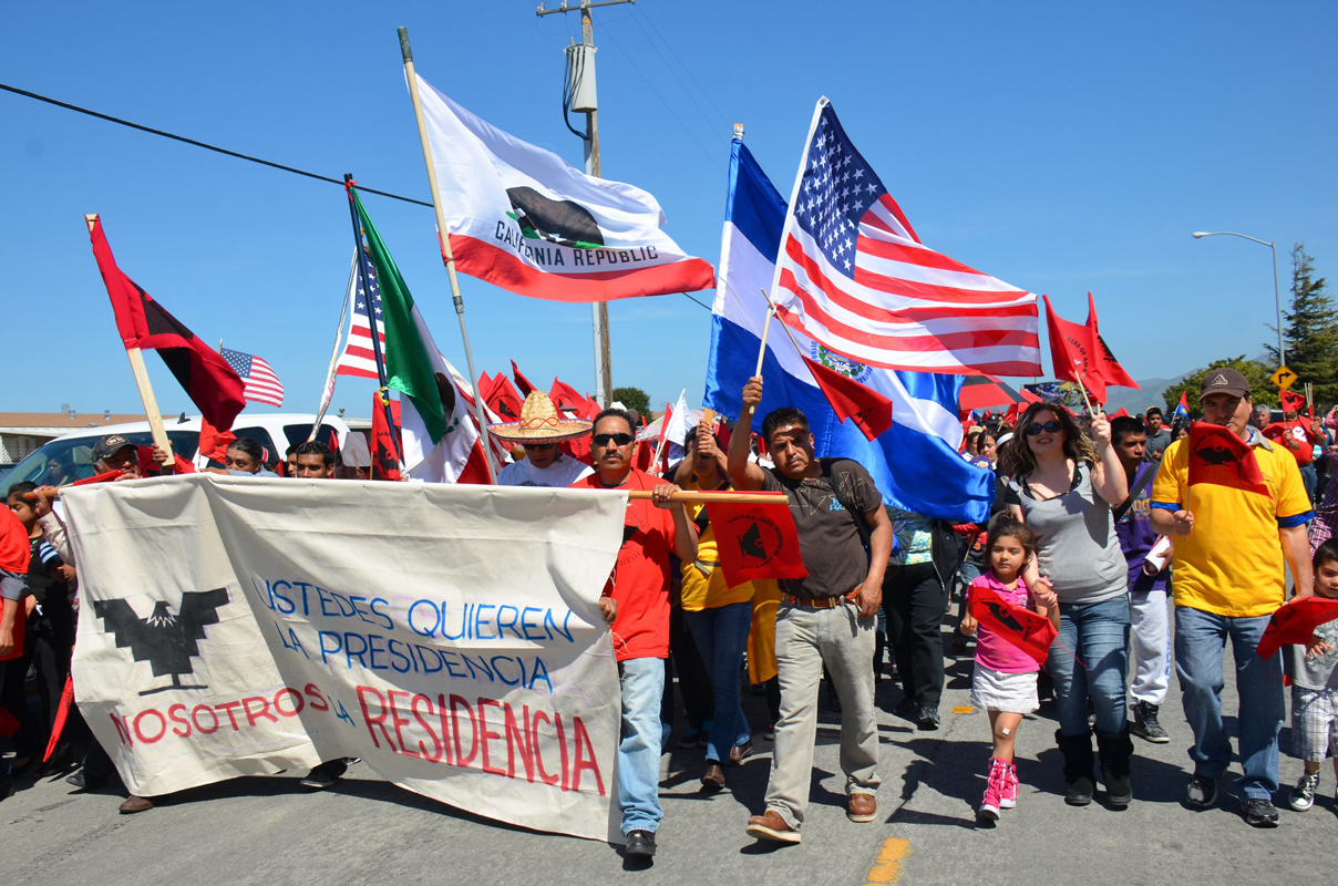 United Farm Workers' 3-mile march for comprehensive immigration reform in Salinas, Calif. (Photo CC-licensed by Steve Rhodes)