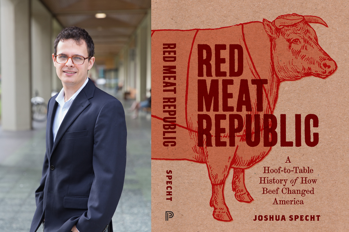 red meat republic by joshua specht cover and author photo