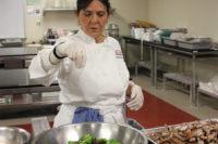 Chef Lois Ellen Frank teaching an indigenous foodways class