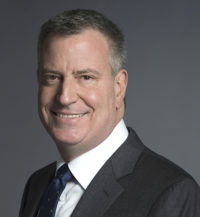 Official photo of New York City Mayor Bill de Blasio