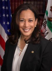 Official photo of Sen. Kamala Harris.