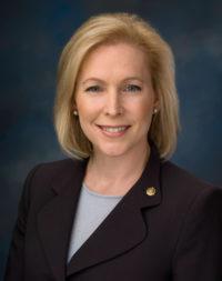 Senator Gillibrand official photo by Rebecca Hammel, U.S. Senate Photographic Studio.