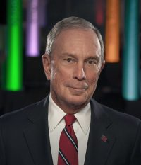 Michael Bloomberg portrait. Photo CC-licensed by Bloomberg Philanthropies.