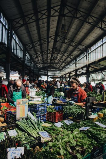 Urban farmers market photo by Mael Balland on Unsplash