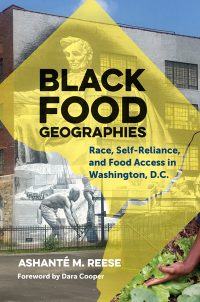 black food geographies book cover