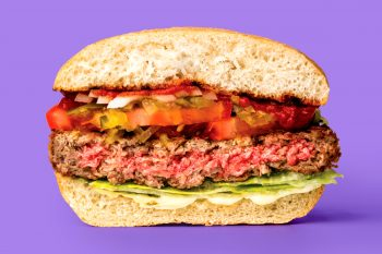 Impossible Burger photo courtesy of Impossible Foods.