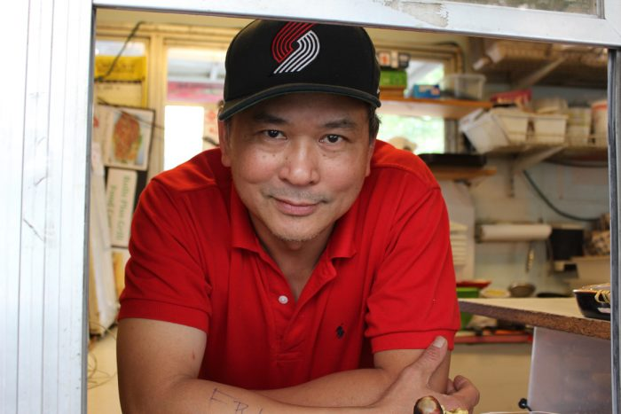 Richard Tran of Rolls Plus Grill
